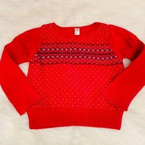 Nwot Cherokee red sweater